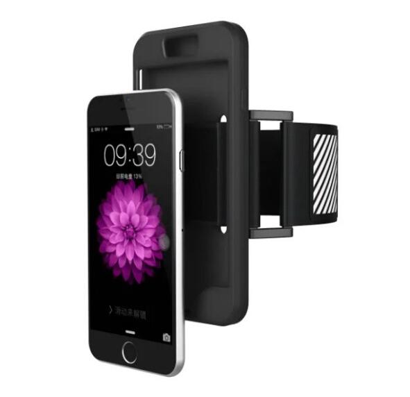 [해외]새로운 2017 체육관 스포츠 아이폰 6 6s 7 플러스 조깅 핸드 폰 완장 케이스 커버 5 5S SE를전화 팔 밴드 케이스/New 2017 Gym Sport Running Phone Arm Band Case For iPhone 6 6s 7 plus joggin