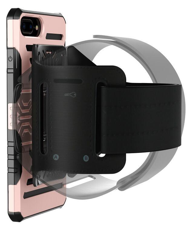 [해외]회전 아이폰 7 armband 2 IN1 스포츠 손목 가방 홀더에 대 한 보호 하드 쉘 케이스/Rotating Protective Hard Shell Case For iphone 7 Armband 2 in1 Running Sport Wrist Bag Holder