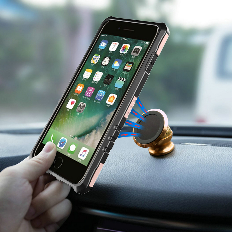 [해외]90 회전 보호 하드 쉘 케이스 iphone 6 6s 플러스 암밴드 2 in1 실행 스포츠 손목 가방 홀더/90 Rotating Protective Hard Shell Case For iphone 6 6s Plus Armband 2 in1 Running Spor
