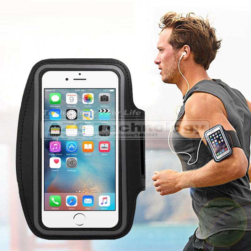 [해외]아이폰 7 5S에 대 한 패션 스포츠 러닝 Armband 케이스 / 6 iPhone 6 S 6 플러스 벨트 손목 스트랩 체육관 팔 밴드 스포츠 케이스 커버/Fashion Sports Running Armband Case for iPhone 7 5S / For i