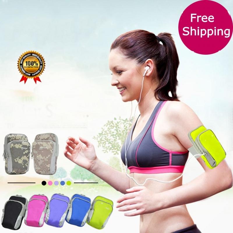 [해외]더블 지퍼 다기능 포켓 스포츠 가방 OnePlus One Oneplus 2 Oneplus 3 Oneplus 3t One plus X/Double Zipped Multifunction pocket sport Bag Gym armband for OnePlus One