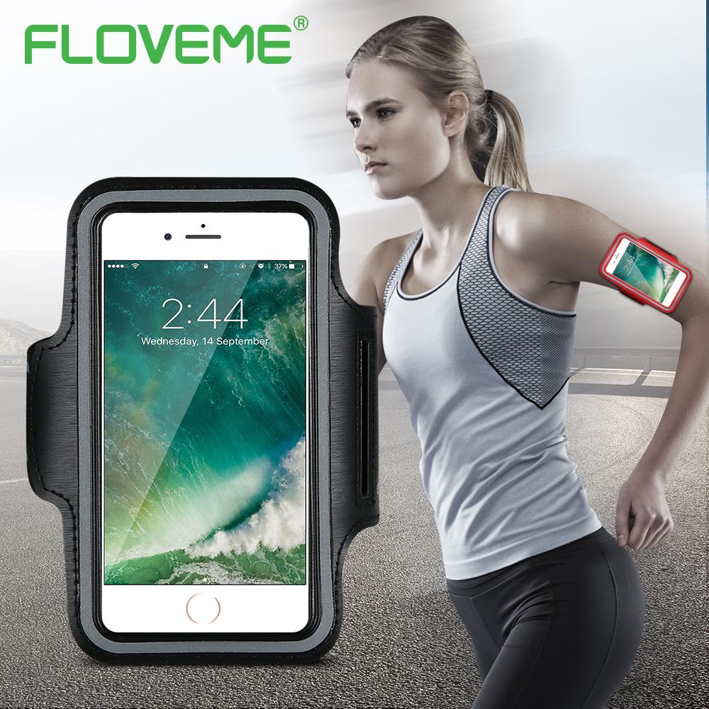 [해외]FLOVEME 방수 스포츠 완장 케이스 아이폰 7 6 6S 플러스 체육관 액세서리 아이폰 6 6S 7 플러스 전화 가방 케이스/FLOVEME Waterproof Sport Armband Case For iPhone 7 6 6S Plus Gym Activities