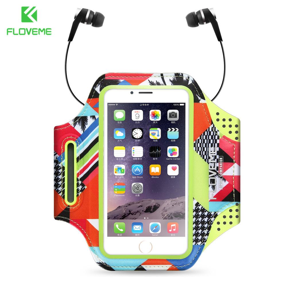 [해외]FLOVEME iPhone 8 7 6 용 6S 5 5s SE 케이스 4.7 && Clear Screen View Touch Sensible 러닝 스포츠 주머니 용 방수 스포츠 암밴드/FLOVEME Waterproof Sport Armband For