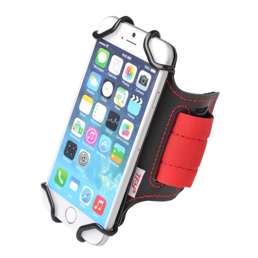 [해외]TFY 실행 팔 밴드 손목 밴드 HolderKey 슬롯에 4 인치 ~ 5.4 인치 휴대 전화 - 아이폰, Smasung 갤럭시 폰 - 화웨이/TFY Running Armband Wrist Band HolderKey Slot for 4 inch to 5.4 inc