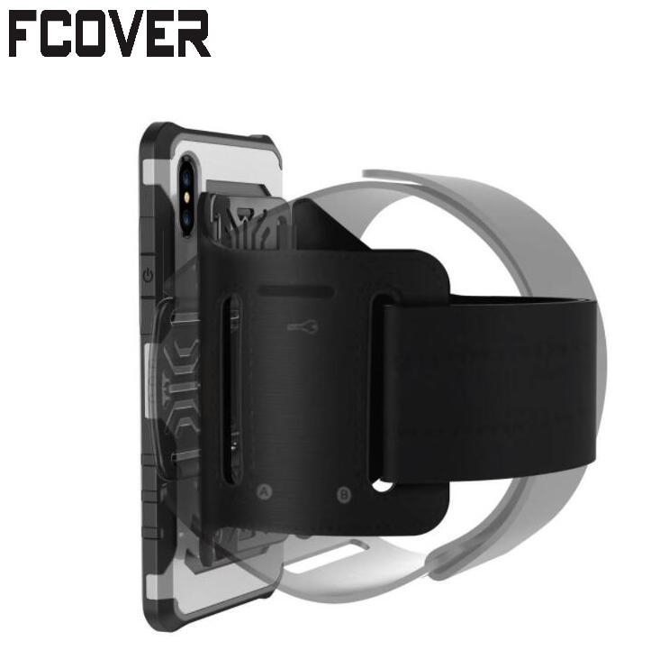 [해외]애플 아이폰 10 / iphone X 암밴드 하드 쉘 2 in1 러닝 스포츠 손목 가방 홀더 들어/For Apple iphone 10/iphone X Armband Rotating Hard Shell 2 in1 Running Sport Wrist Bag Hold