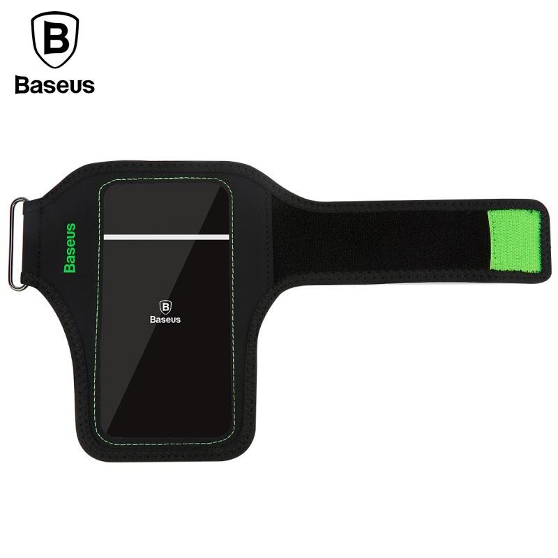 [해외]BASEUS 스포츠 완장 파우치 사이클링 손목 가방 iPhone6s iPhone8 iPhone 6 6s 7 8 Plus 등의 터치 가능 커버 Smartphone/BASEUS Sports Armband Pouch Cycling Wrist Bag Touchable