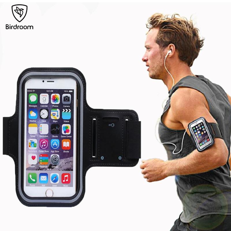 [해외]Birdroom 5.5 인치 완장 iPhone 6 6S 7 8 Plus 스포츠 휴대 전화 홀더 방수 케이스 Porta Celular Para 달리기 팔 가방/Birdroom 5.5 inch Armband For iPhone 6 6S 7 8 Plus Sports