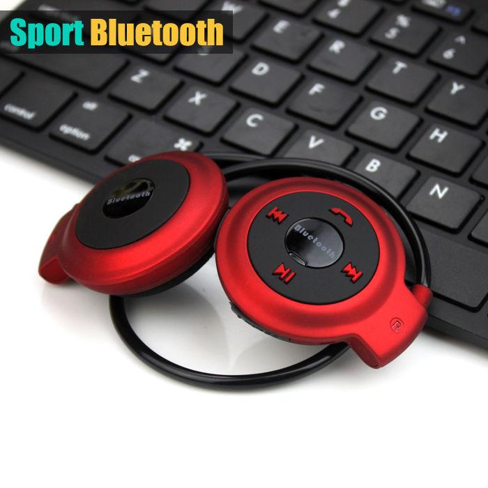 [해외]2015 새로운 보편적 인 스포츠 무선 블루투스 핸즈프리 스테레오 음악 헤드셋 헤드폰 EarphoneMicro의 SD 카드 슬롯 MP3 플레이어/2015 New universal Sport Wireless Bluetooth Handsfree Stereo musi