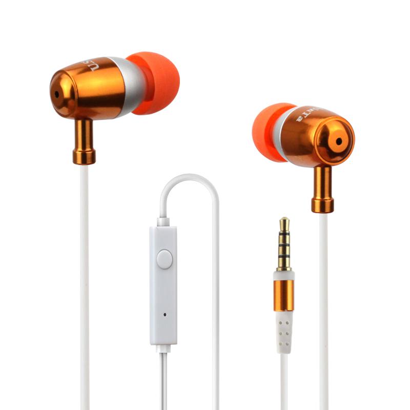 [해외]?모든 전화 MP3를보편적 인 귀 금속 이어폰 핸즈프리베이스 HeadphonesMic의 3.5mm의 이어폰으로 스테레오 헤드셋/ Stereo Headset In Ear Metal Earphone handsfree bass HeadphonesMic 3.5mm Ea