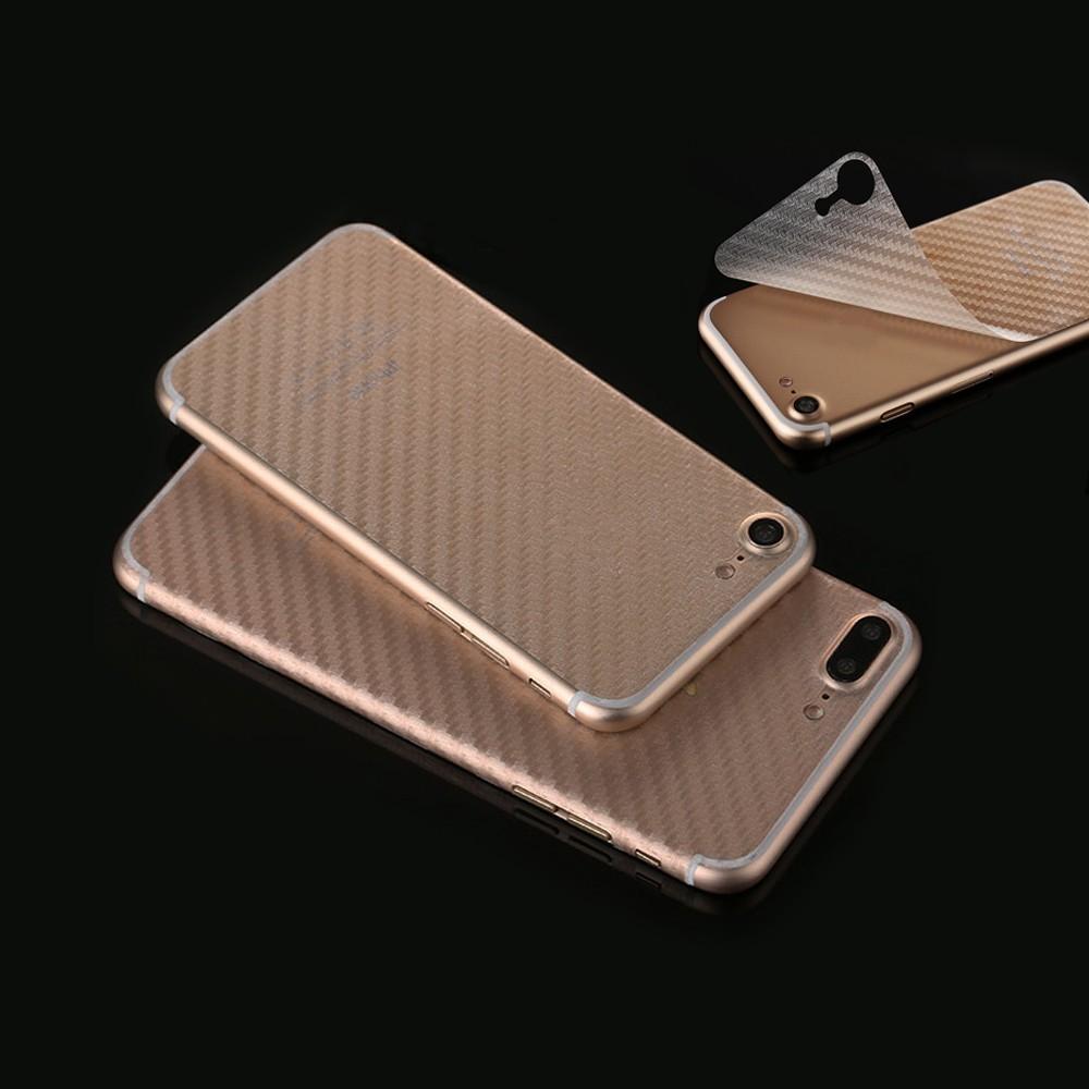 [해외]iPhone 6 6s 플러스 7 플러스 뒷면 커버 소프트 필름 스티커 및 추적 번호에 대한 투명 탄소 섬유 뒷면 스티커/Transparent Carbon Fiber Back Sticker For iPhone 6 6s Plus 7 plus Back  Cover S