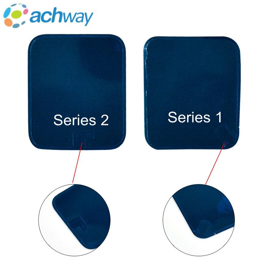 [해외]높은 품질 애플 시계 시리즈 1 / Series2 전면 접착 스티커 화면 접착제 애플 시계 화면 복구 테이프 10pcs / lot/High quality For Apple Watch Series1/ Series2 Front Adhesive Sticker Scre