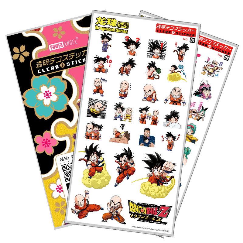 [해외]뜨거운 애니메이션 드래곤 볼 GOKU Vegeta 핸드폰 노트북에 대 한 럭셔리 스티커 플라스틱 투명 한 전사 술 스티커 선물/Hot Anime Dragon Ball GOKU Vegeta Luxury Stickers For Mobile Phone Laptop B