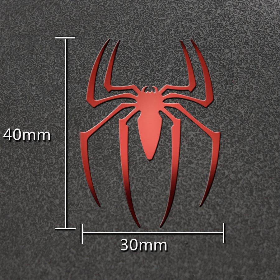 [해외]슈퍼 영웅 스파이더 맨 럭셔리 휴대 전화 노트북 스티커 자동차 오토바이 데 칼 DIY 3D 금속 스티커/Super Hero Spider Man Luxury Mobile Phone Laptop Sticker Car Motorcycle Decal DIY 3D Met