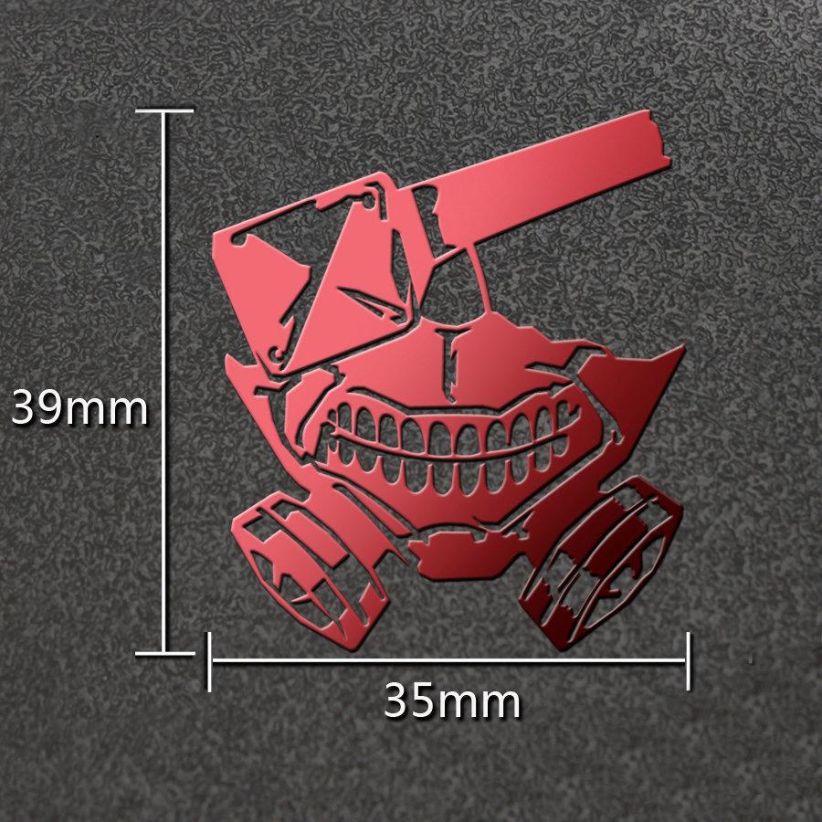 [해외]PowerAngel Anime 스티커 도쿄 Ghoul DIY 3D 금속 스티커 노트북 자동차 스티커에 대 한 휴대 전화에 대 한 장난감 스티커/PowerAngel Anime Stickers Tokyo Ghoul DIY 3D Metal Sticker for Mob