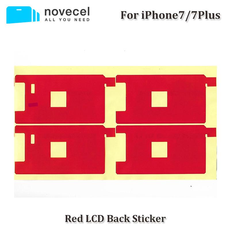[해외]아이폰 Novecel는 50PCS / 많은 백라이트 프로텍터 빨간색 스티커 7분의 7 플러스 / 6 / 6S / 6 플러스 / 6S 플러스 / 5 / 5S / 5C 백라이트/Novecel 50pcs/lot Backlight Protector Red sticker