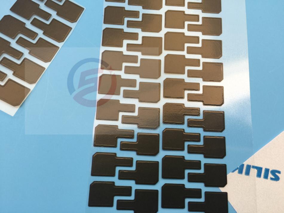 [해외]100pcs / lot 아이폰 5S LCD 스크린 어셈블리 QR 코드 부분에 대 한 정전기 방지 열 손실 필름 스티커/100pcs/lot Anti-static Heat Dissipation Film Sticker for iPhone 5S LCD Screen As