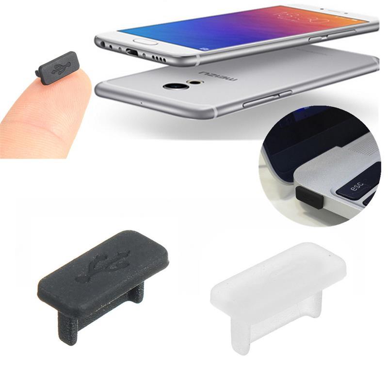 [해외]KUKOWDEE 20 PCS USB 3.1 유형 C 안티 먼지 보호 고무 커버 먼지 플러그 마카오 노키아 N1에 대한 화웨이 P9 투명 블랙/KUKOWDEE 20 PCS USB 3.1 Type C Anti Dust Protect Rubber Cover Dust