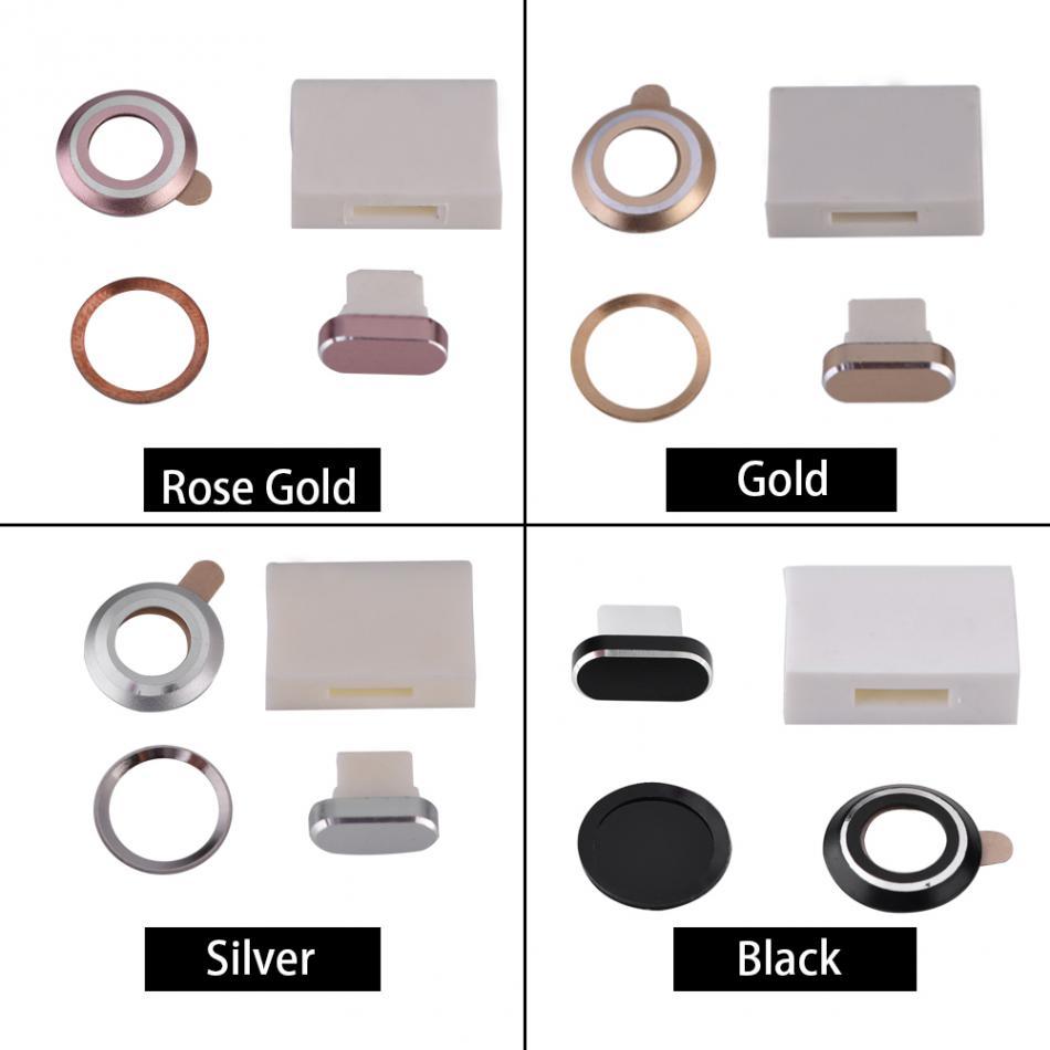 [해외]VBESTLIFE 4Pcs / 세트 아이폰 7 / iPhone7 플러스 보호 렌즈 먼지 저장 상자 지문 스티커/VBESTLIFE 4Pcs/Set Protective Lens Dust Plug Storage Box Fingerprint Sticker For iPh