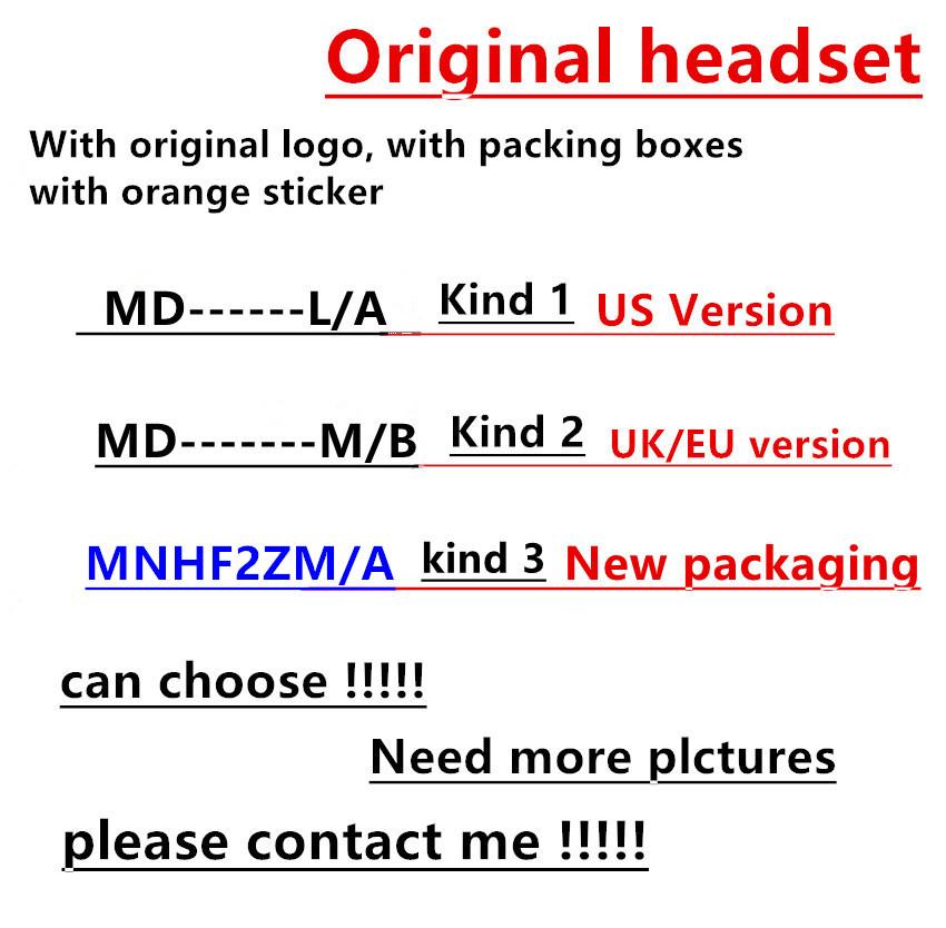 [해외]100pcs / lotpackaging 귀에 헤드폰   품질의 헤드셋 3.5 i 5 5s 6 6S plus/100pcs/lotpackaging Genuine Original Quality headset in ear headphones earphoneRemote