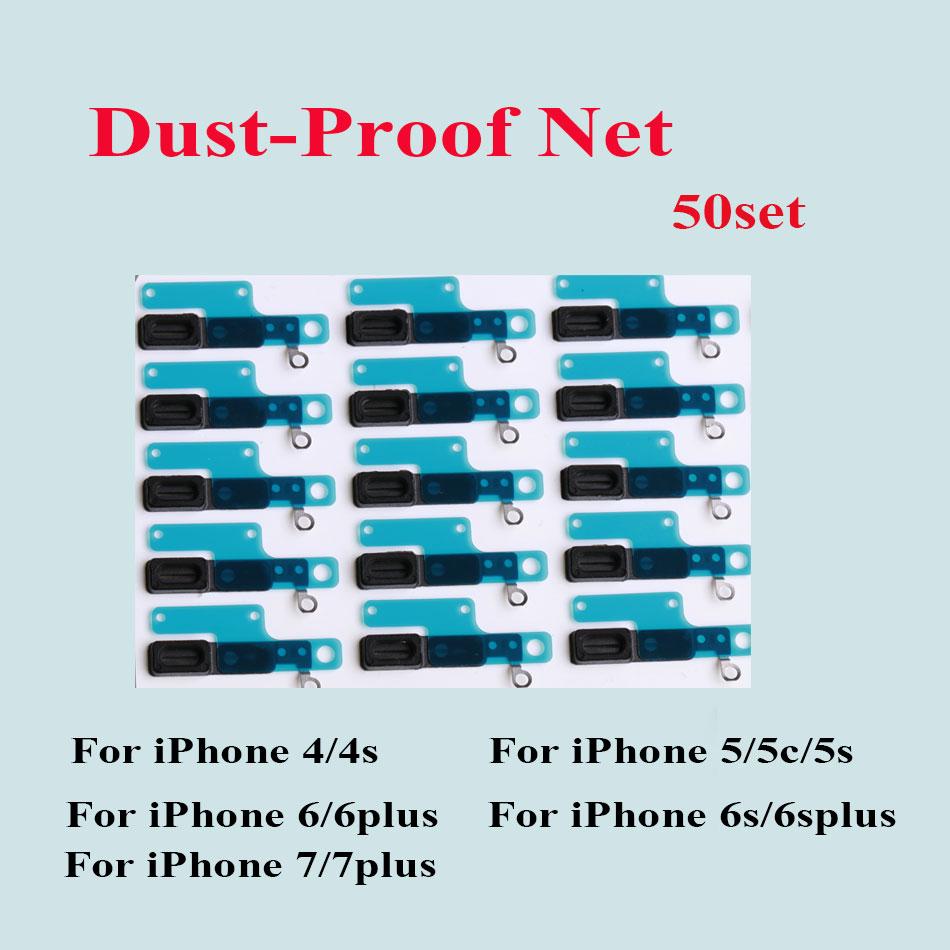 [해외]50pcs 아이폰 4SS 5 5S 5C 6 6S 7 8 플러스 이어 피스 스피커 Aniti 먼지 메쉬 이어폰 플러그에 대 한 방진 그물 메쉬 부품 스티커/50pcs Dust-proof Net Mesh Parts Stickers For iPhone 4 4S SE