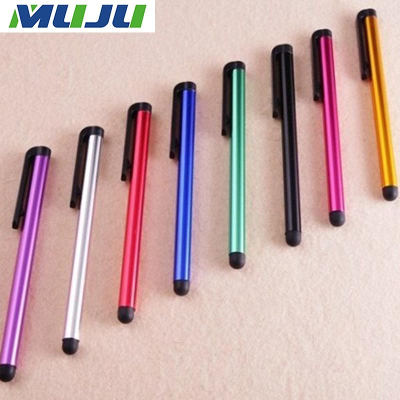 [해외]500pcs / lot 새로운 용량 성 터치 펜 아이폰 6 플러스 5s 4s ipad 갤럭시 s6 가장자리 s5 Xperia Z3 Z2 태블릿 PC에 대 한 유니버설 11cm 스타일러스/500pcs/lot New Capacitive Touch Pen Univer