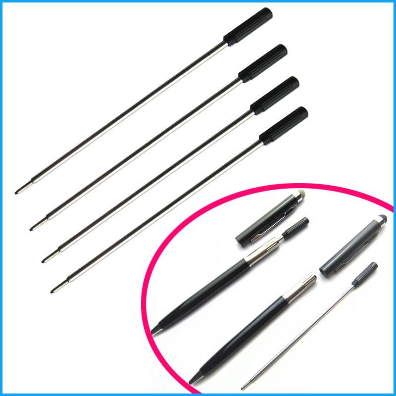 [해외]100pcs 금속 볼 펜 리필 115mm 길이 작문 펜 크기 0.7mm 펜 리필 사무 용품 미니 긴 2 in 1 스타일러스 펜/100pcs metal Ball Pen refill 115mm length Writing Lead size 0.7mm pen refil