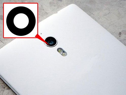 [해외]Oppo Find7 용 2PCS Original Back 후면 카메라 유리 렌즈 7 X9007 X9077 찾기/2PCS Original Back Rear Camera Glass Lens FOR Oppo Find7 Find 7 X9007 X9077