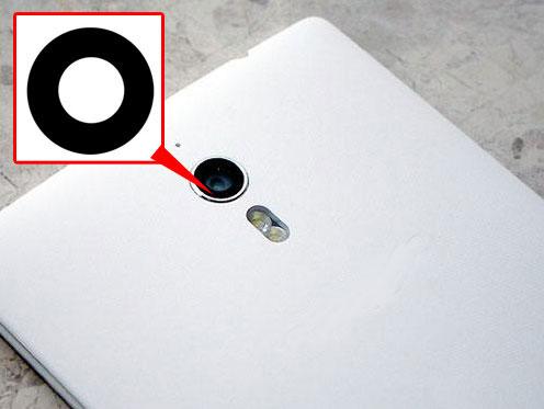 [해외]Oppo Find7 용 2PCS Original Back 후면 카메라 유리 렌즈 7 X9007 X9077 찾기/2PCS Original Back Rear Camera Glass Lens FOR Oppo Find7 Find 7 X9007 X9077