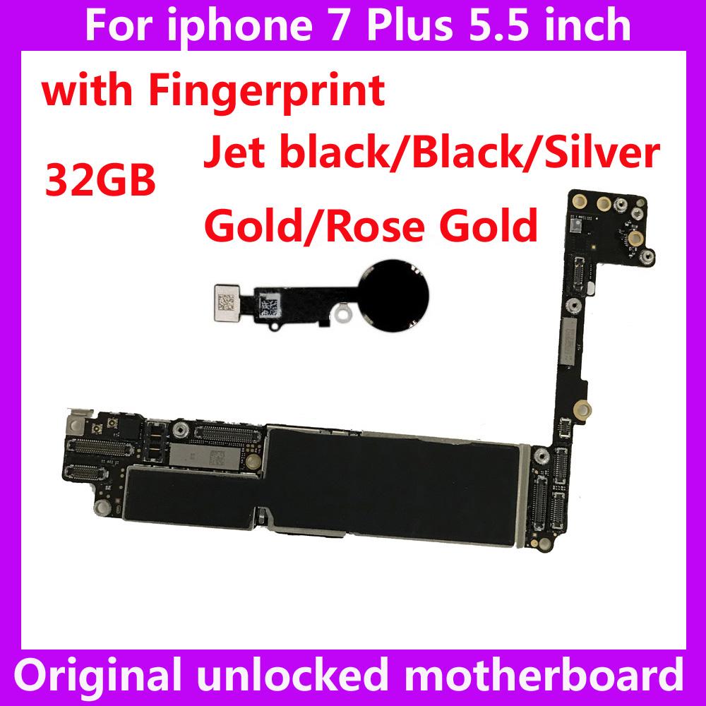 [해외]아이폰 7Plustouch ID 32 기가 바이트 원래 마더 보드는 아이폰 7 플러스 IOS 시스템 로직 보드에 대한 전세계 메인 보드를 열었/32GB original motherboard for IPhone 7Plustouch ID unlocked worldw