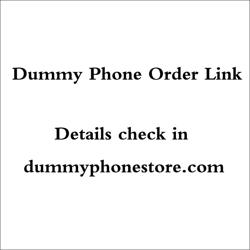 [해외]더미 전화 비 작업 더미 전시 모델 주문 링크/Dummy Phone  Non-Working Dummy Exhibit Model Order link