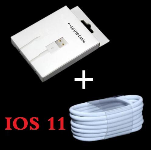 [해외]충전기 액세서리 번들  100pcs 8pin usb 데이터 동기화 충전 케이블 + 100pcs iphone 5 6 7 Retail 패키지 상자/Charger accessory bundles Free shipping 100pcs 8pin usb data sync