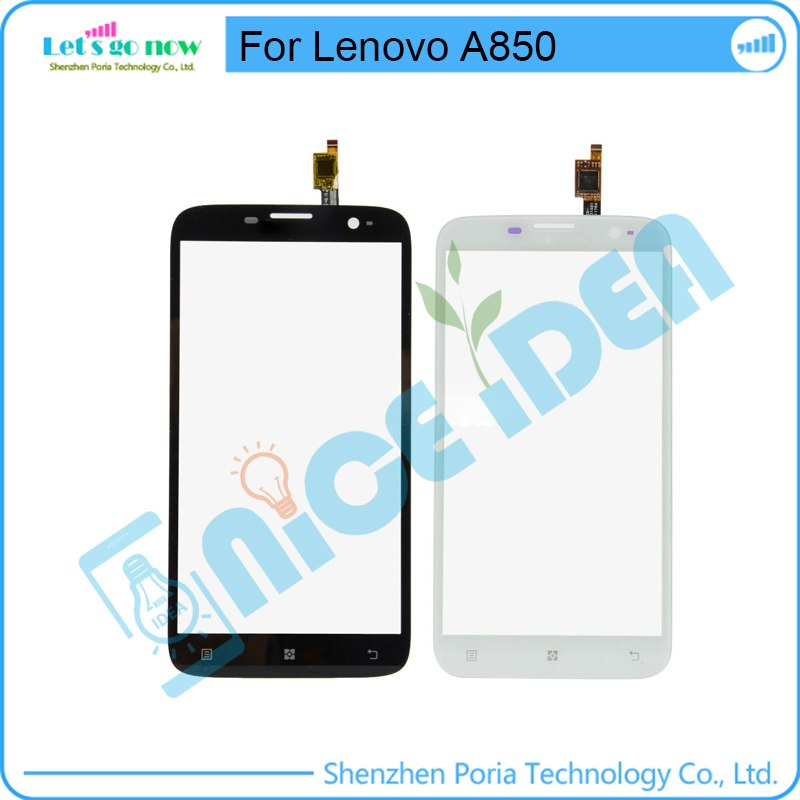 [해외]Lenovo A850 전면 유리 터치 스크린 센서 + 트랙 번호 + 도구 용 터치 스크린 디지타이저 TouchPanel/Touch Screen Digitizer TouchPanel For Lenovo A850 Front Glass Touchscreen Senso