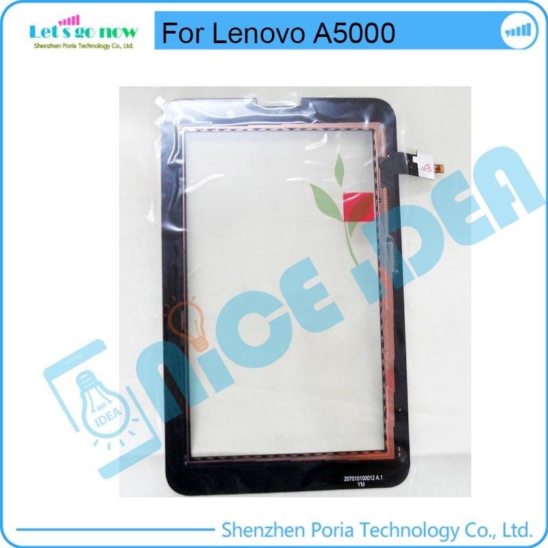 [해외]터치 스크린 디지타이저 TouchPanel 용 Lenovo A5000 전면 유리 터치 스크린 센서 + 트랙 번호/Touch Screen Digitizer TouchPanel For Lenovo A5000 Front Glass Touchscreen Sensor +