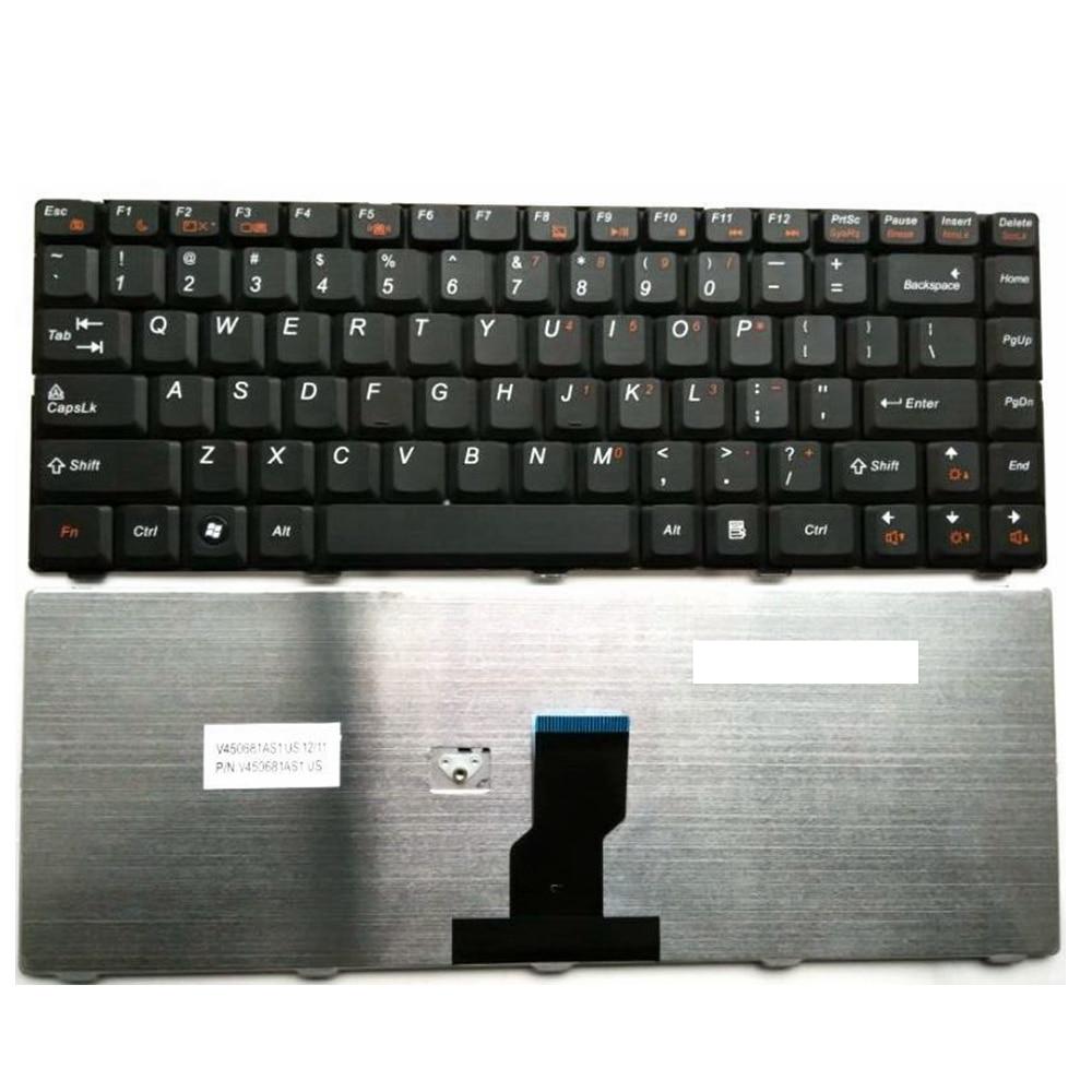 [해외]US Black New English 노트북 키보드를 Lenovo B450 C로 교체하십시오. B450A B450L B465C B460C G465C G470E N480 N485/US Black New English Replace laptop keyboard Fo