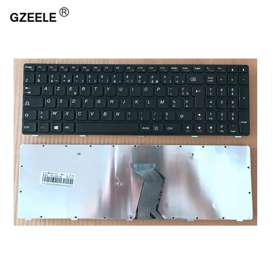 [해외]GZEELE 프랑스어 LENOVO G500 용 G510 G505 G700 G710 G500A G700A G710A G505A FR 노트북 키보드 (NOT FIT G500S) BLACK/GZEELE French New for LENOVO G500 G510 G505
