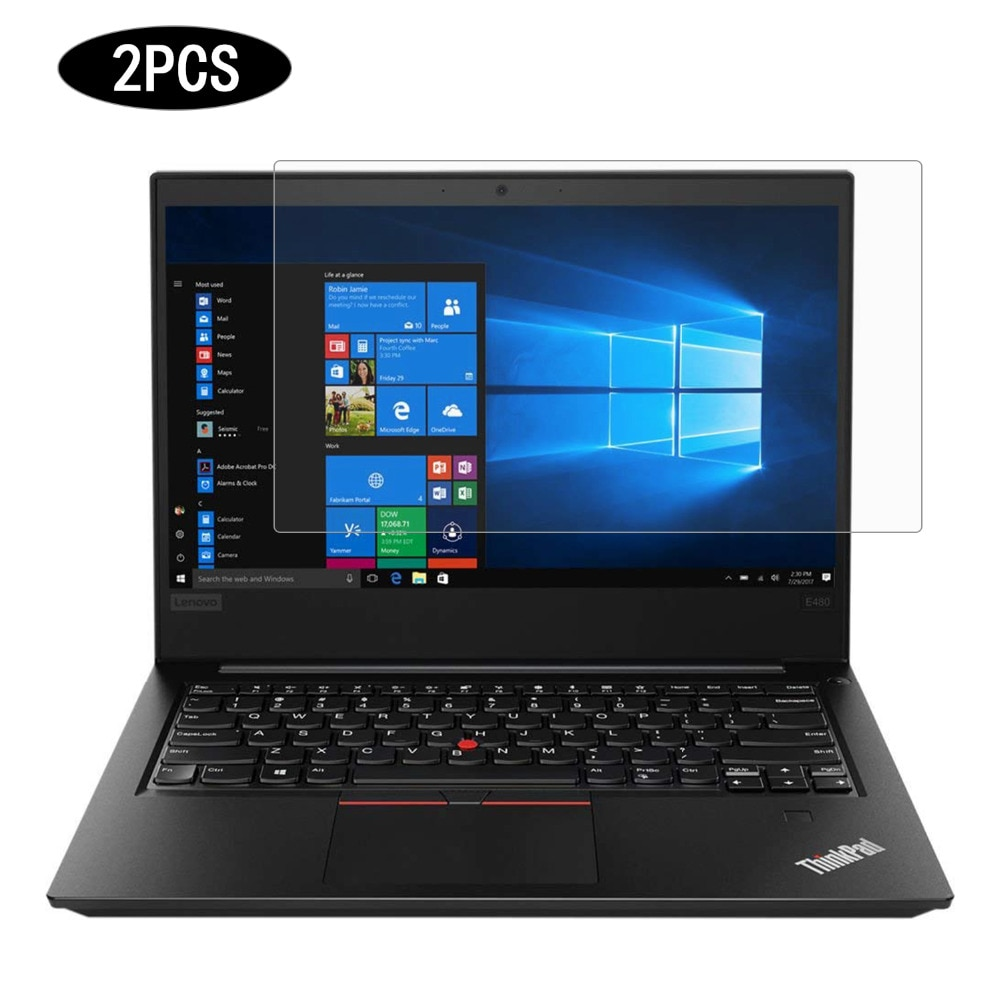 "[해외]Cartinoe 유니버설 HD 크리스탈 레노버 씽크 패드 E470 E480 14 ""수첩, 2PCS를액정 보호 필름 Laptop Screen Protector/Cartinoe Universal HD Crystal Clear LCD Guard film La"