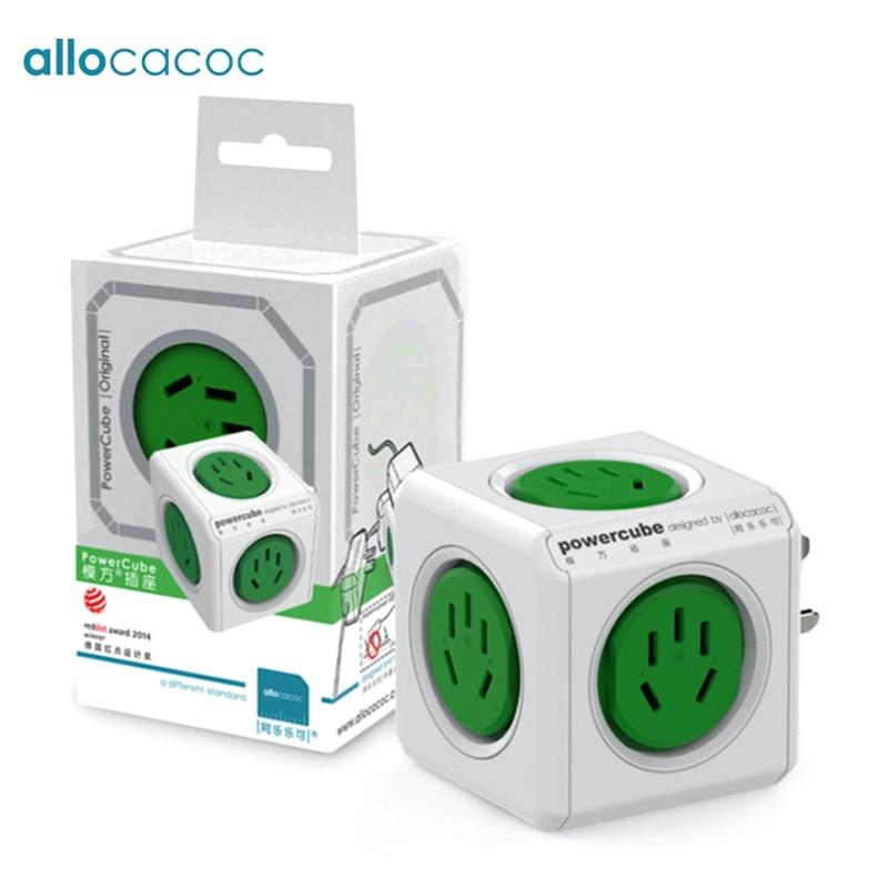 [해외]Allocacoc 여행 powercube 파워 스트립 CN AU 어댑터 플러그 스마트 소켓 호주의 전기 전기 확장 멀티 플러그/Allocacoc travel powercube power strip CN AU adapter plug smart socket Elec