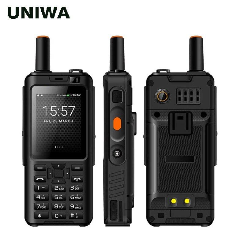 """[해외]Uniwa 알프스 F40 Zello 워키 토키 휴대 전화 IP65 방수 2.4 """"터치 스크린 LTE 스마트 폰 MTK6737M 쿼드 코어 1GB + 8GB 전화/Uniwa Alps F40 Zello Walkie Talkie Mobile Phone IP6"""