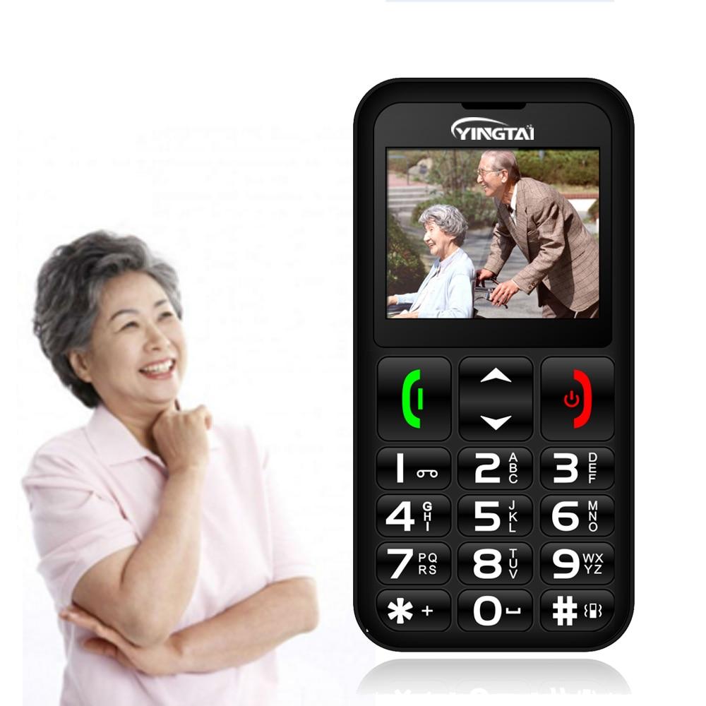 [해외]2018 NEW Senior mobile phone Big Keyboard inexpensive push-button telephone best for Old Man radio Flashlight YINGTAI T11 Elder/2018 NEW Senior mo