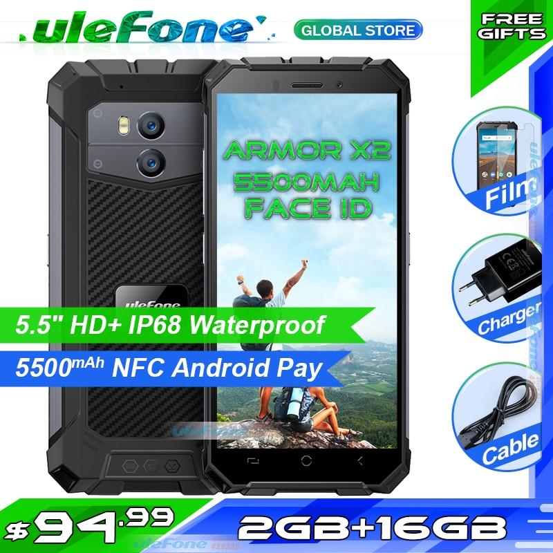 [해외]Ulefone Armor X2 Waterproof IP68 Smartphone 5.5\
