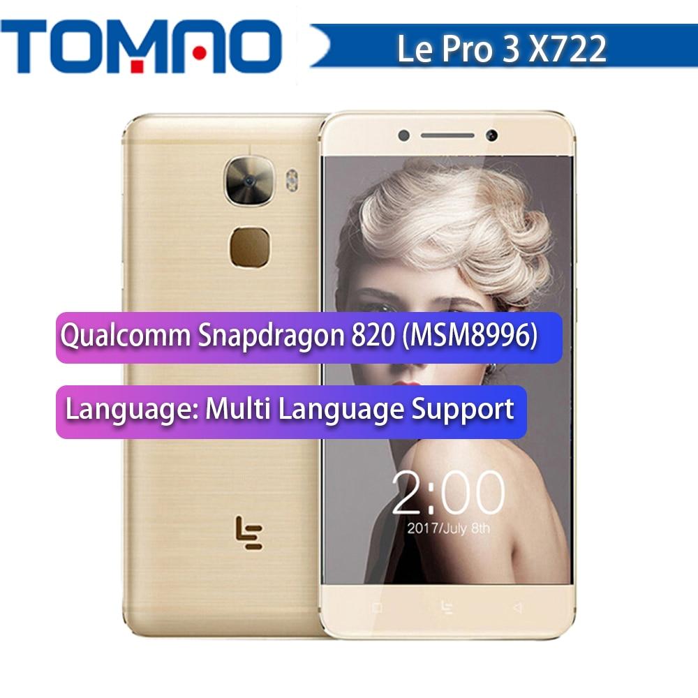 [해외]LeTV LeEco Le Pro 3 Elite X722 Smartphone 4GB RAM 32GB ROM Quad Core 안드로이드 6.0 Snapdragon 820 5.5\