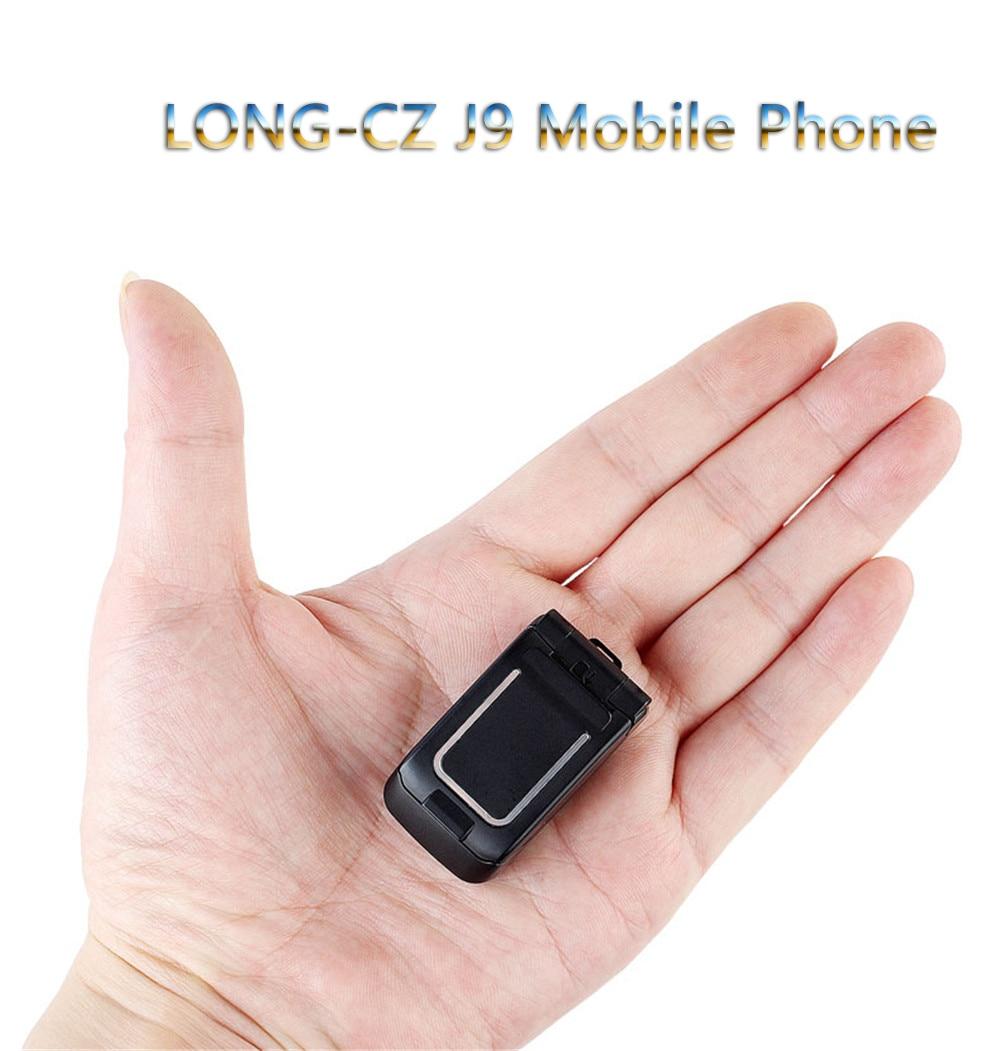 [해외]Mini Flip LONG-CZ J9 Mobile Phone Smalleset  Cell Phone Bluetooth Wireless Dialer Magic Voice FM SOS Handsfree Earphone For Kids/Mini Flip LONG-CZ