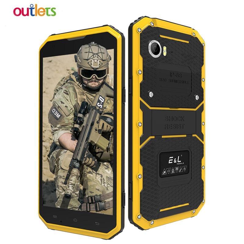 [해외]E&L W9 4G Mobile Phone 6.0 inch Waterproof Shockproof IP68 안드로이드 6.0 MTK6753 Octa Core 2GB RAM 16GB ROM 4000mAh Smartphone/E&L W9 4G Mobil