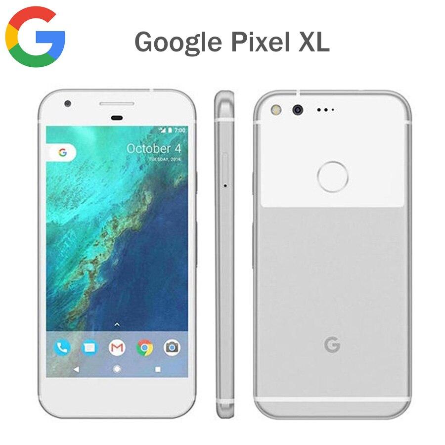 [해외]기존 google pixel xl 미국 버전 4g lte 휴대 전화 4 gb ram 32 gb/128 gb rom 5.5 \\\