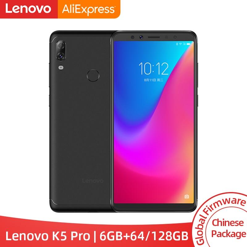 [해외]Global ROM Lenovo K5 Pro 6GB RAM 64GB / 128GB Snapdragon 636 Octa Core Four Cameras 5.99 inch 4G LTE Smartphone 4050mAh/Global ROM Lenovo K5 Pro 6