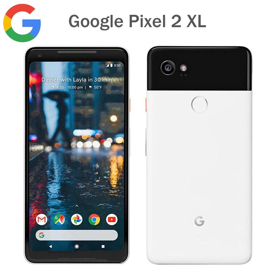 [해외]Original EU Version Google Pixel 2 XL 4G LTE Mobile Phone 6.0Inch 4GB RAM 128GB ROM Snapdragon 835 Fingerprint 안드로이드 Phone NFC/Original EU Version
