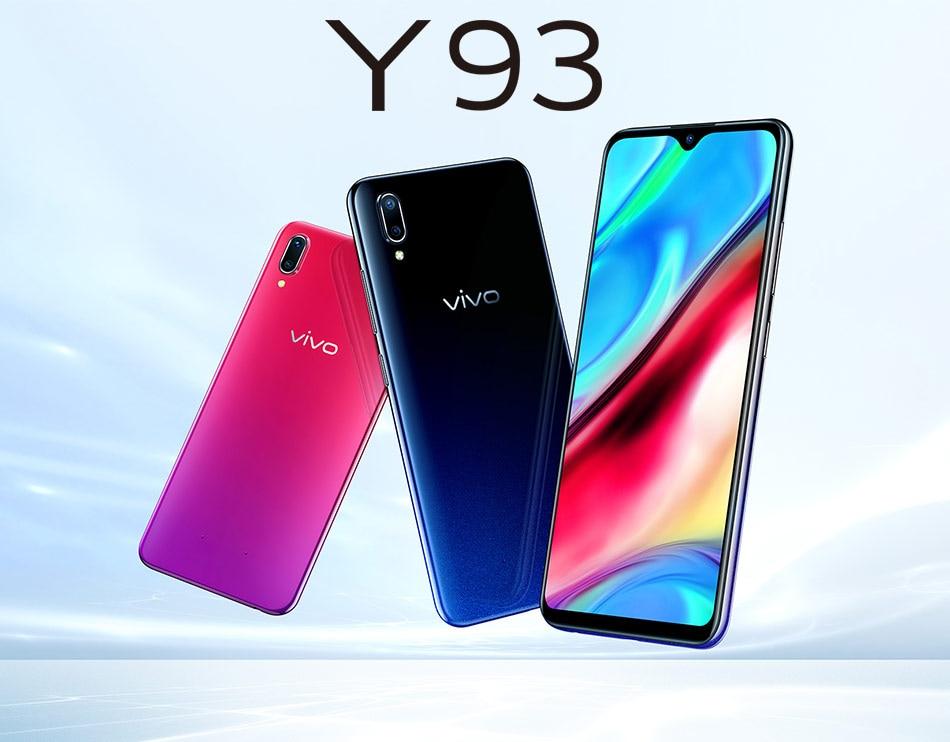 [해외]New Original  VIVO Y93 Smartphone 3/4G RAM 64G ROM Octa core 안드로이드 8.1 6.2`` Full Screen 13MP+2.0MP Camera Face ID/New Original  VIVO Y93 Smartpho