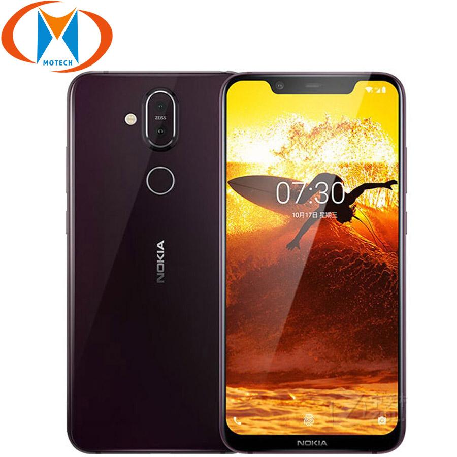[해외]Nokia 8.1 6 gb ram 128 gb rom 글로벌 버전 ta-1119 안드로이드 9.0 휴대 전화 금어초 710 octa core 20mp 4g lte nfc 스마트 폰/Nokia 8.1 6 gb ram 128 gb rom 글로벌 버