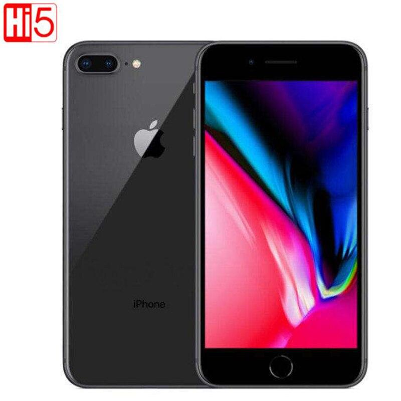 [해외]Unlocked Apple Iphone 8 plus mobile phone 64G/256G ROM 12.0 MP Fingerprint iOS 11 4G LTE smartphone 1080P  4.7 inch screen/Unlocked Apple Iphone 8