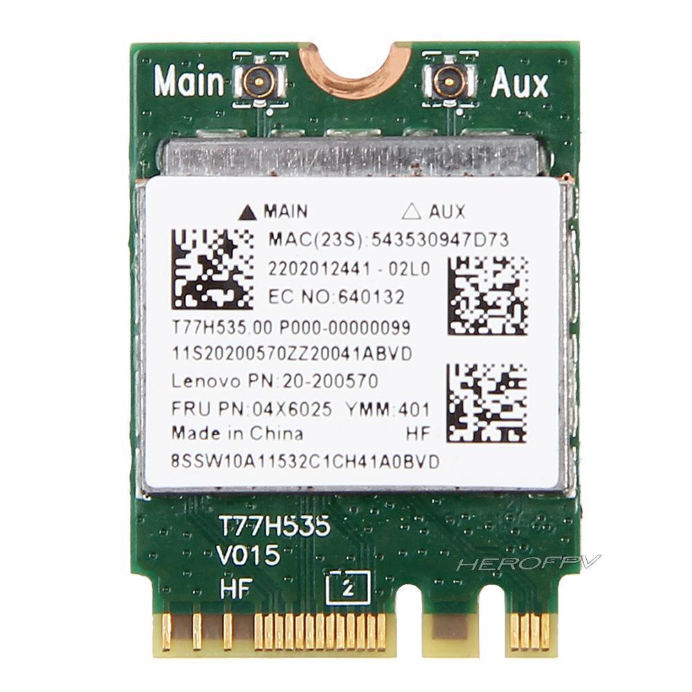 [해외]Realtek RTL8723BE 용 무선 어댑터 카드 IBM lenovo FRU 04X6025 랩톱 네트워크 무선 LAN 용 802.11bgn 300Mbps Wifi NGFF 카드/Wireless Adapter Card for Realtek RTL8723BE 8